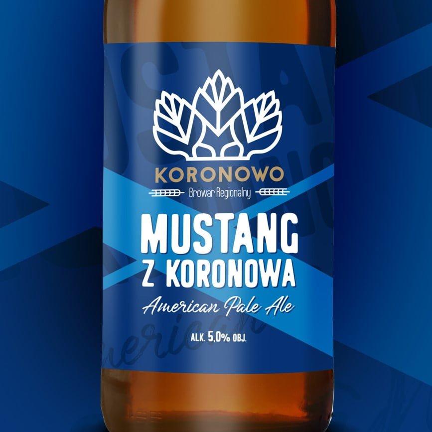 Mustang z Koronowa